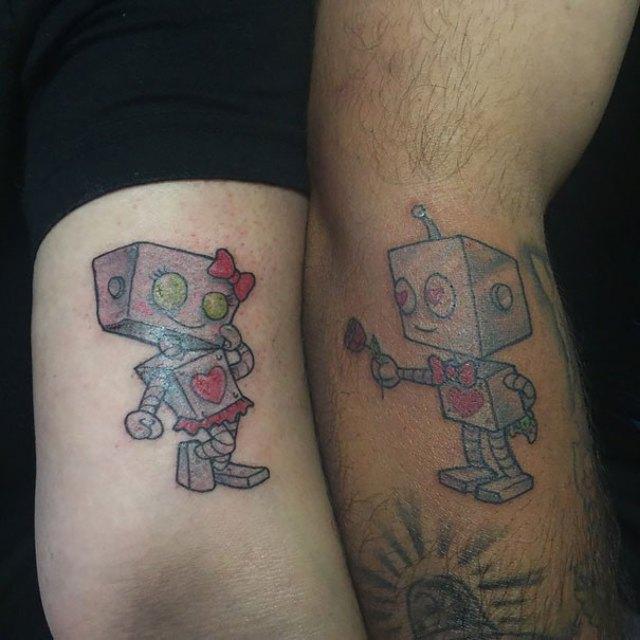 Cute Matching Tattoos