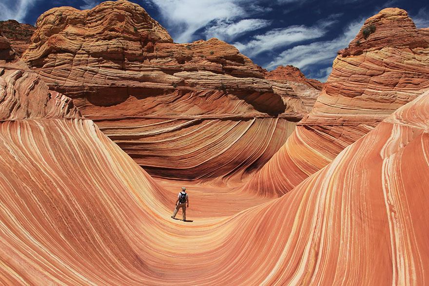 The Wave, Arizona, Usa