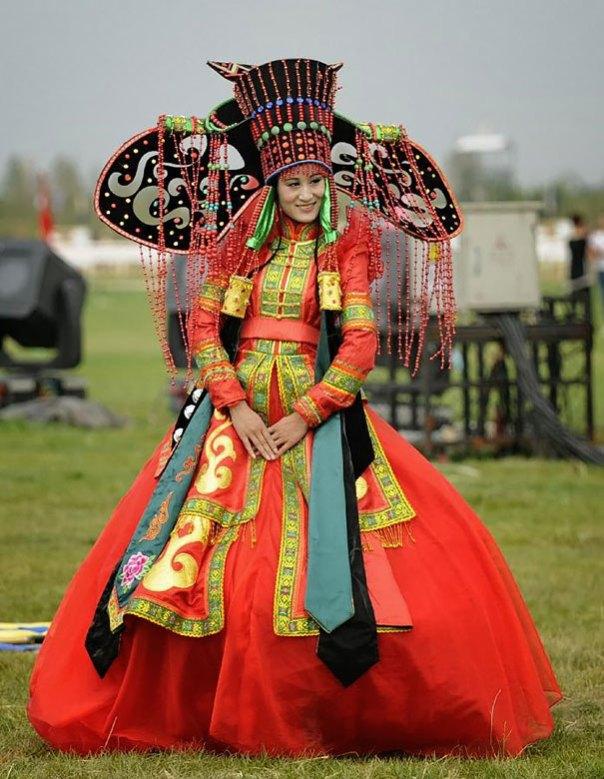 novia de Mongolia