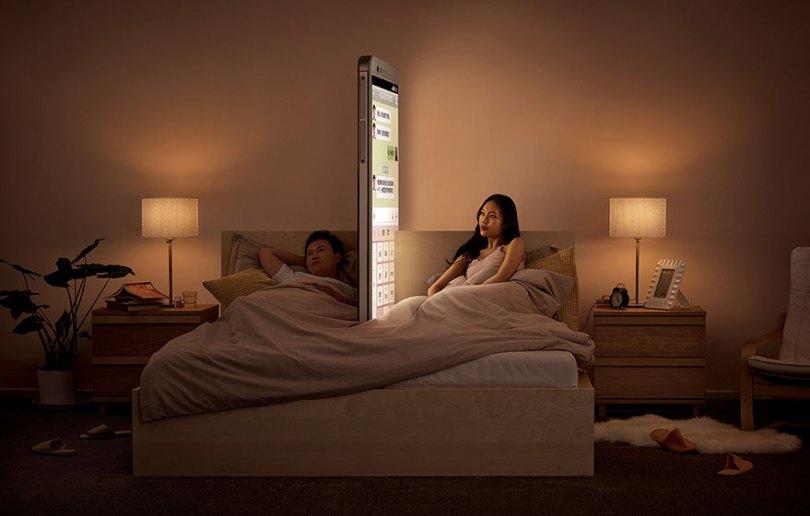 anti smartphone ads shiyang he beijing china 4 - Quanto mais você se conectar, menos você se conecta