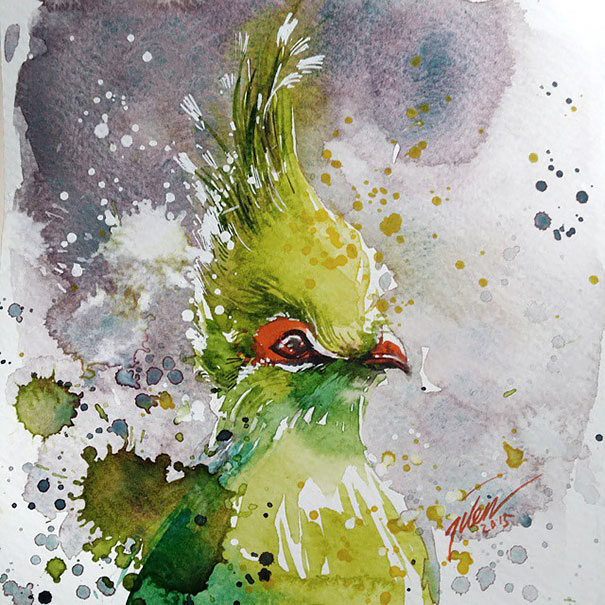 colorful-animal-watercolor-paintings-tilen-ti-3
