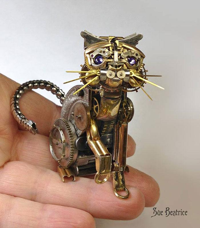 recycled-watch-parts-sculptures-vintage-antique-susan-beatrice-14