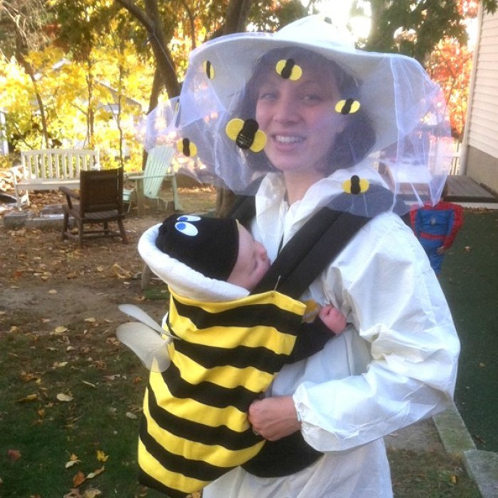 Bee And Beekeeper Baby-Wearing Costume