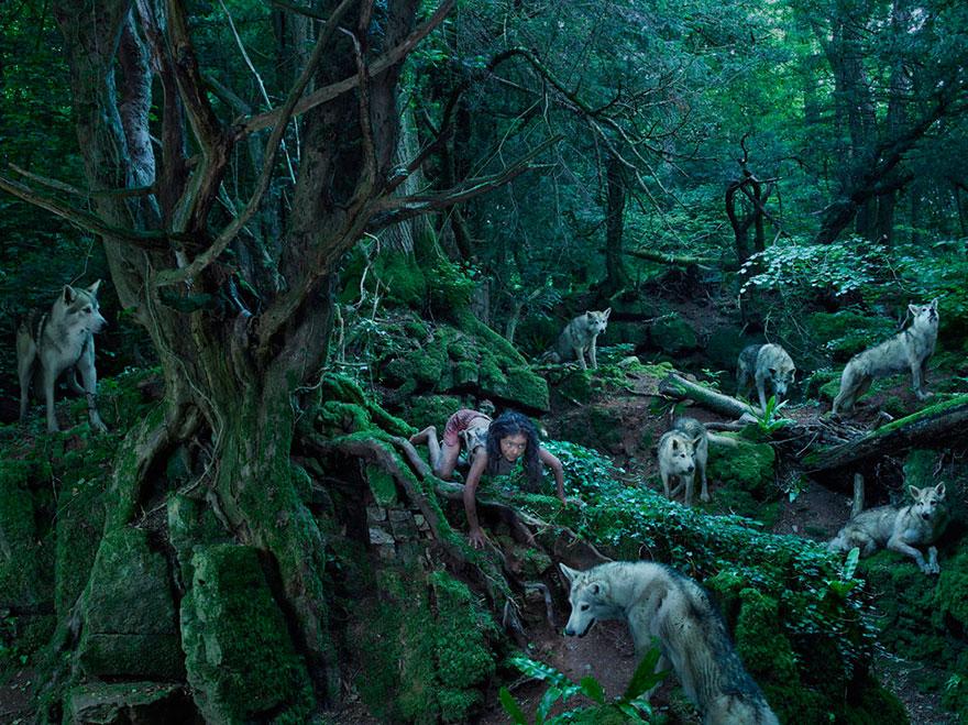 άγριους-παιδιά-άγρια-ζώα-φωτογραφίες-Fullerton-Batten-8