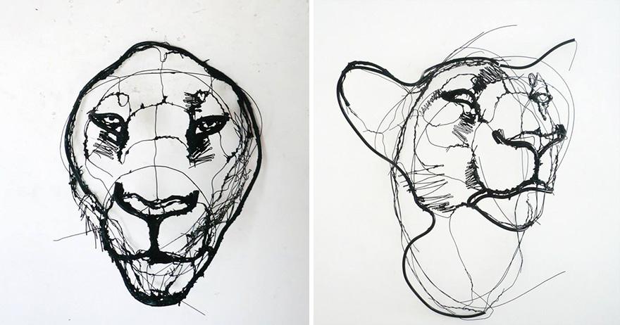 sketchbook-3d-wire-animal-sculpture-david-oliveira-9