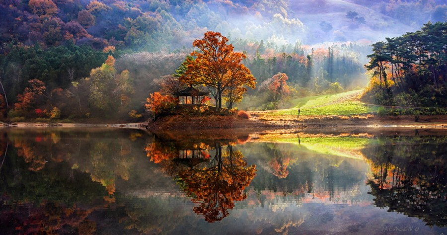 Stunning Reflected Landscapes Capture The Beauty Of South Korea     Stunning Reflected Landscapes Capture The Beauty Of South Korea   Bored  Panda