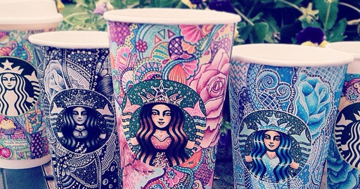 I Turn Starbucks Cups Into Art Bored Panda