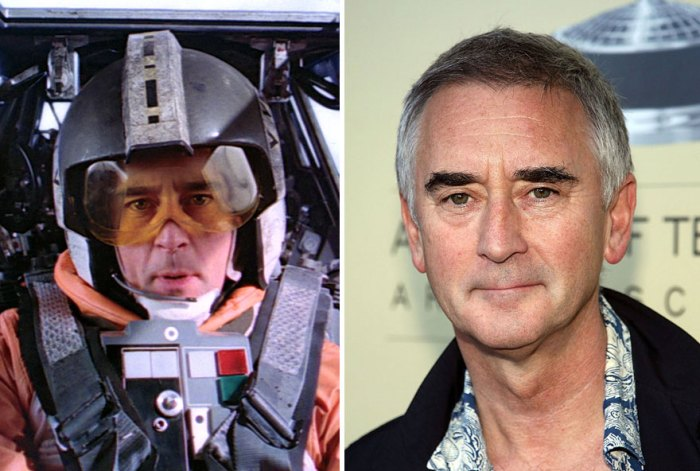 Denis Lawson As Wedge Antilles, 1980 And 2015