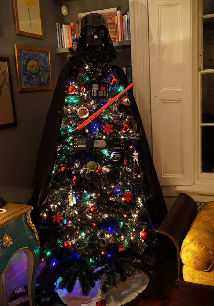 Star Wars Themed Christmas Tree