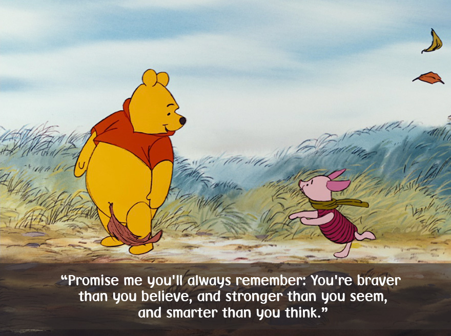 Image result for winnie the pooh  about being great