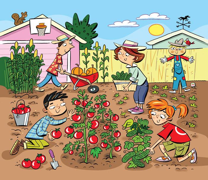 Childrens Garden Party Games