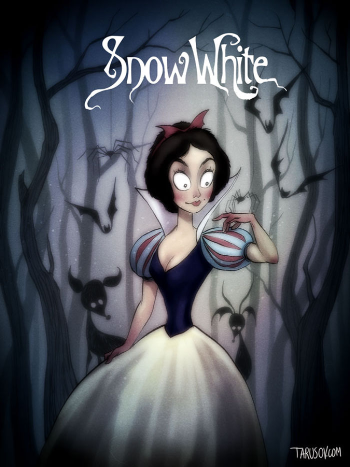 Snow White, Directed By Tim Burton