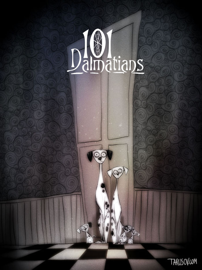101 Dalmatians, Directed By Tim Burton
