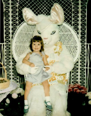 Image result for evil creepy easter bunny
