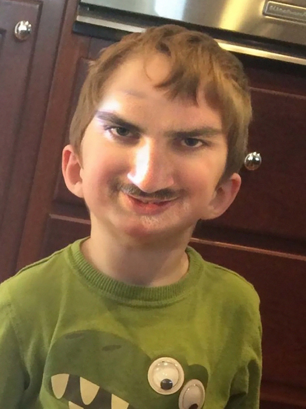 Terrifying Result Of Face Swap With Son