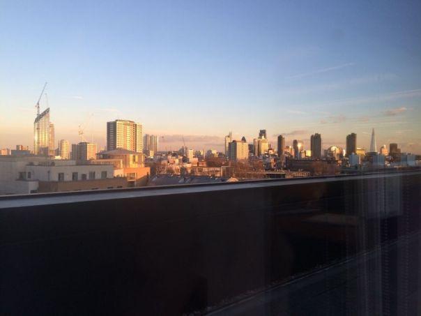 Londres de mi escritorio