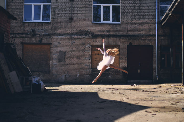 I Captured Urban Ballerina In The Streets Of Riga, Latvia