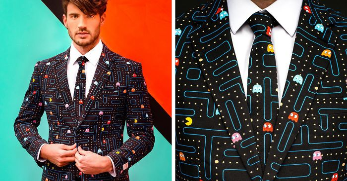 Pac Man Suit Takes A Bite Out Of Corporate Fashion Bored