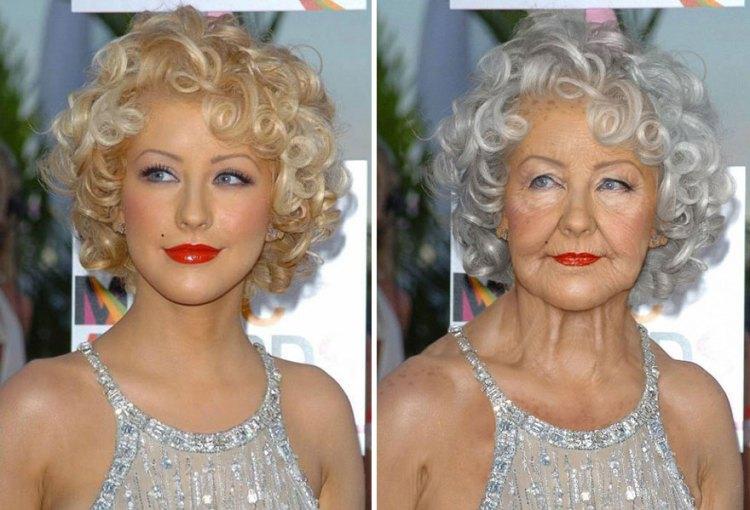 Christina Aguilera By Grumplebits