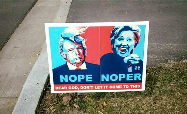 My Yard Sign Has Finally Arrived