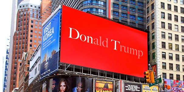 Subtle Anti-Trump Poster