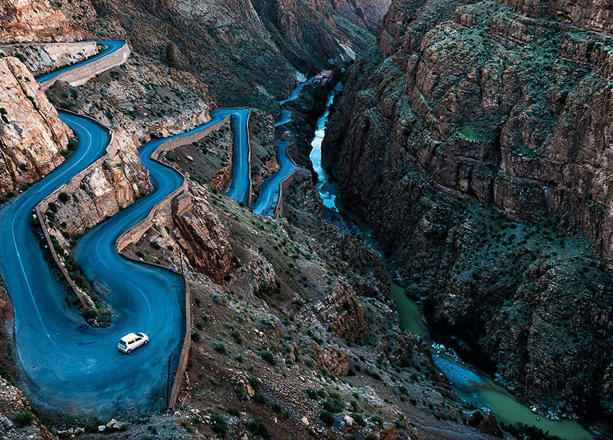 Winding Roads, Morocco