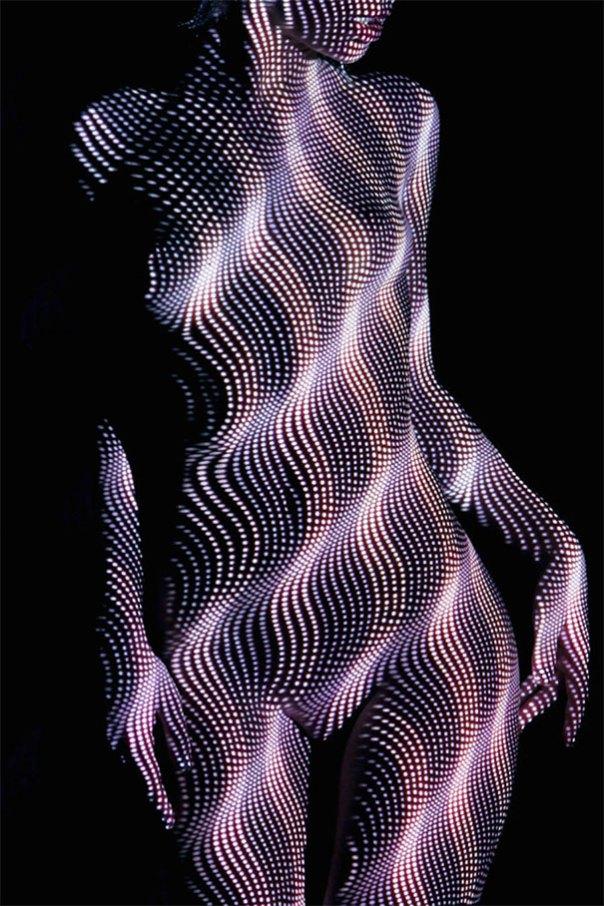 mujer-retratos-luz-rayas-patrones-sombra-fotografía-Dani-Olivier-4
