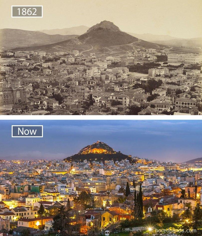 Atenas, Grécia - 1862 E agora