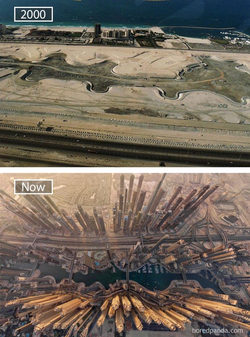 how famous city changed timelapse evolution before after 6 5774df333b03e  880 - Evolução das metrópoles do mundo