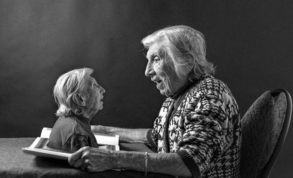 De 91 años de edad de la madre de edad avanzada-women-extrañas-unos-tony-Luciani-10 lúdico-fotografía-