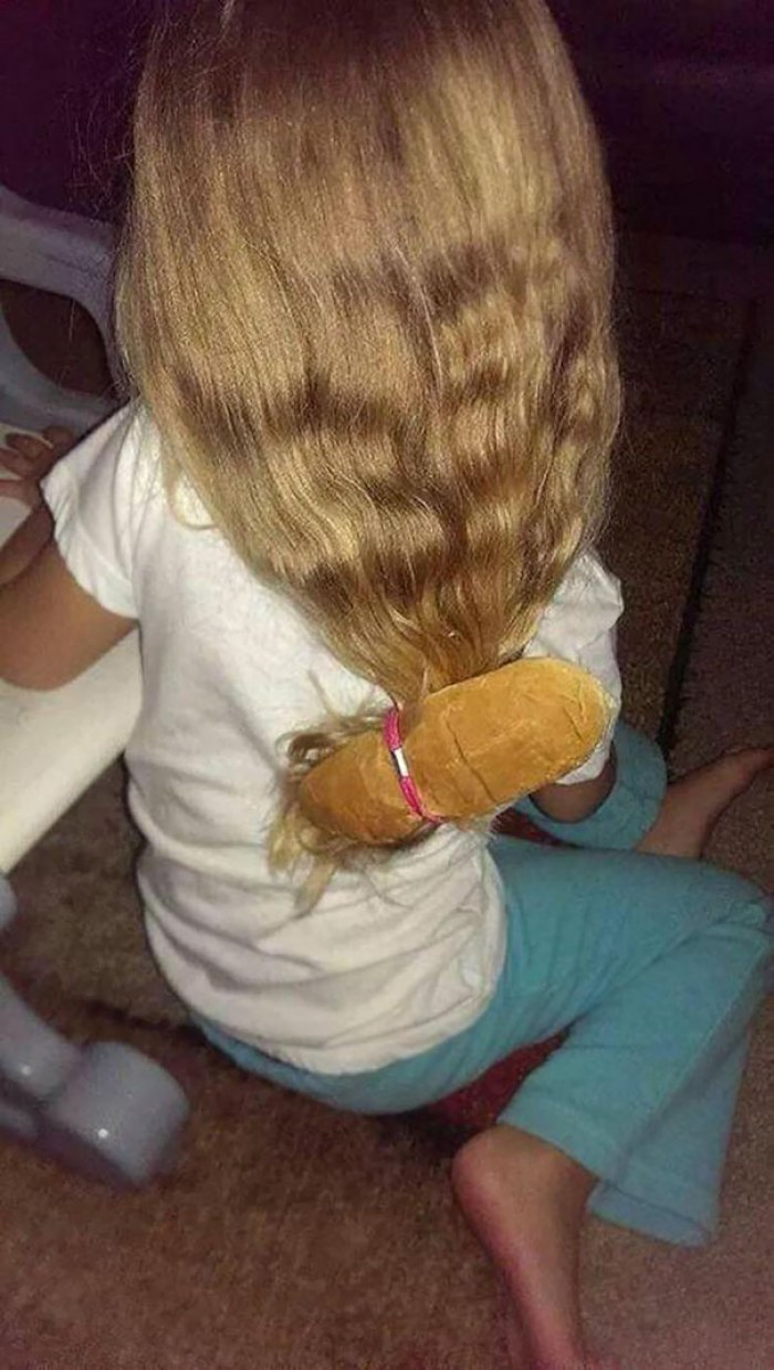 Dad, Will You Put My Hair In A Bun?