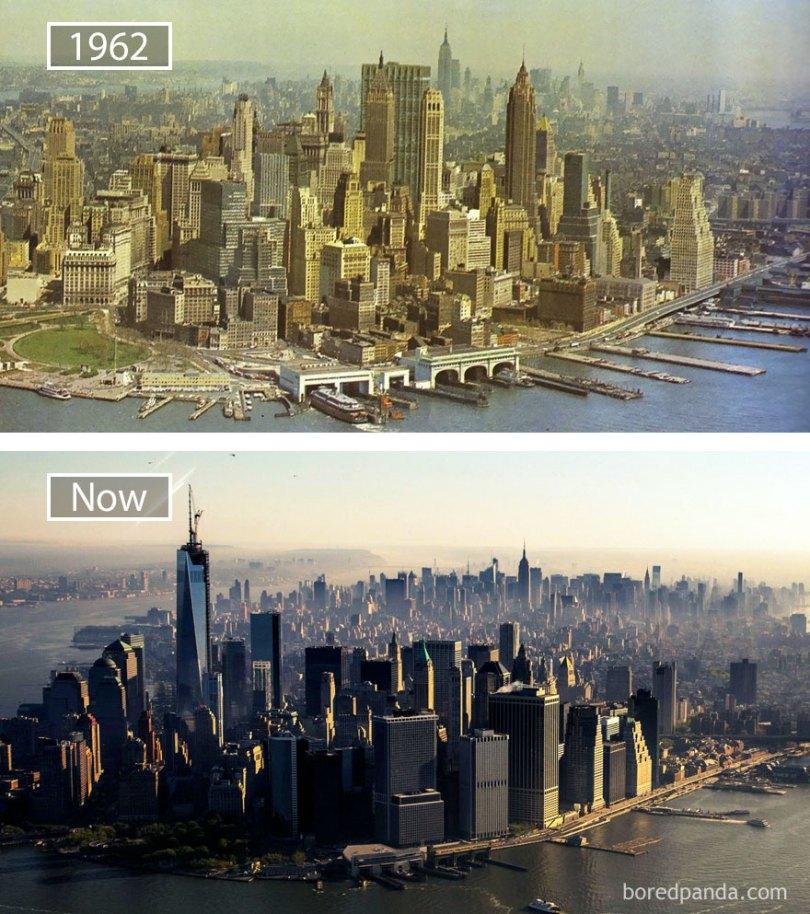 how famous city changed timelapse evolution before after 23 577ccc22b3d07  880 - Evolução das metrópoles do mundo