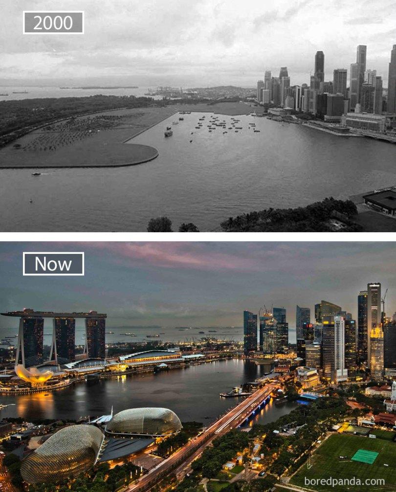 how famous city changed timelapse evolution before after 24 577ce9d8a5313  880 - Evolução das metrópoles do mundo