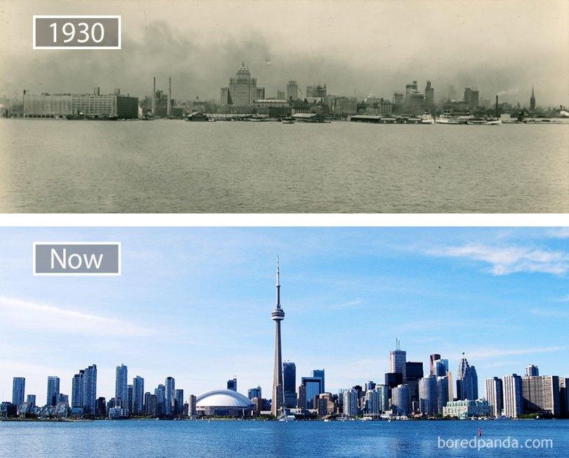 how famous city changed timelapse evolution before after 25 577cebe089e28  880 - Evolução das metrópoles do mundo