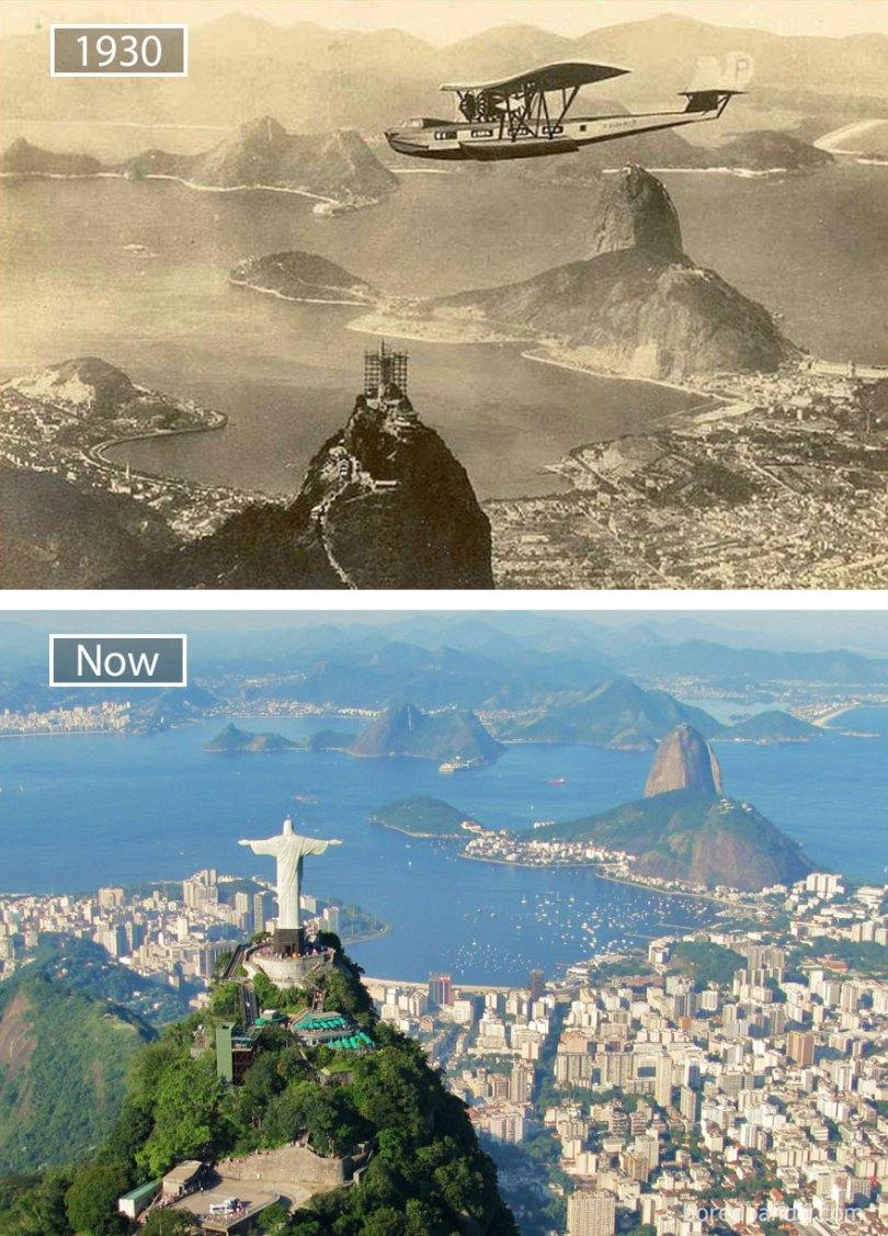 Rio de Janeiro, Brasil - 1930 e agora