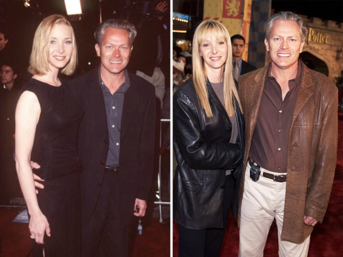 Lisa Kudrow And Michel Stern - 21 Year Together