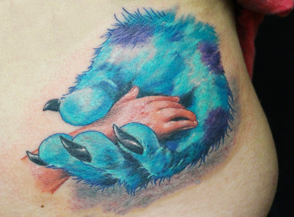 Monsters Inc. Tattoo