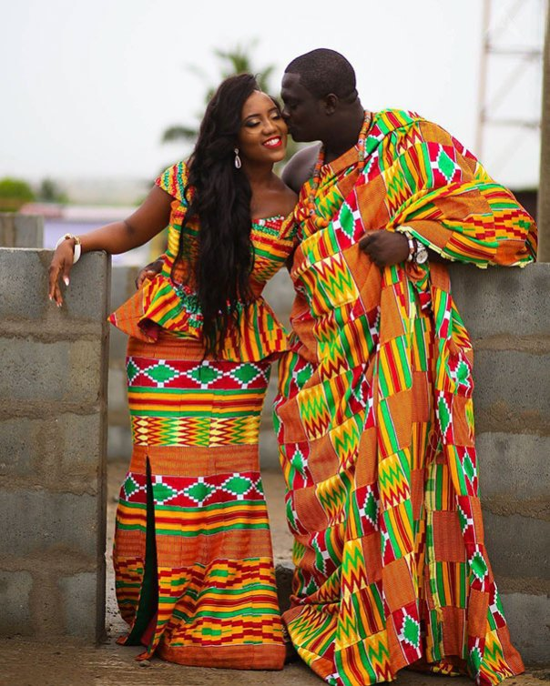 Boda tradicional en Ghana