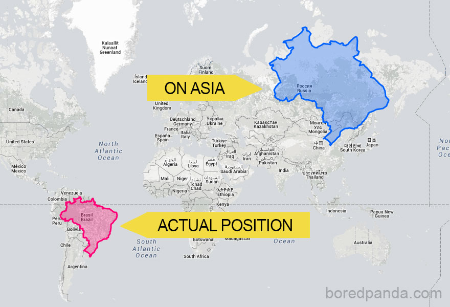 If Brazil Was In Asia It Would Be Massive