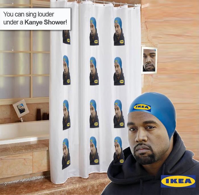 Sing Louder Under A Kanye Shower!