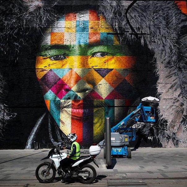 mundo más grande-mural-calle-arte-las-Etnias-the-etnias-eduardo-Kobra-rio-olimpiadas-brasil-13