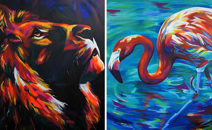 inspiration-ellie-benton-colorful-portraits