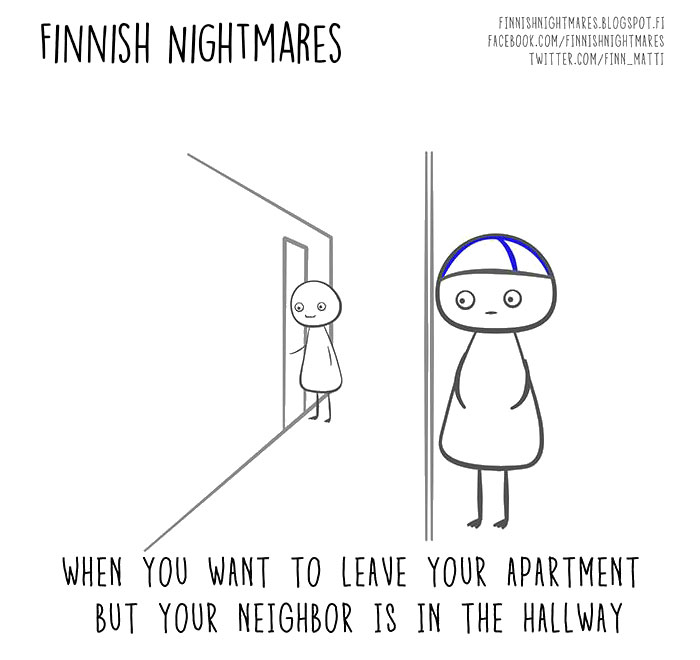 51 Finnish Nightmares That Every Introvert Will Relate To Bored