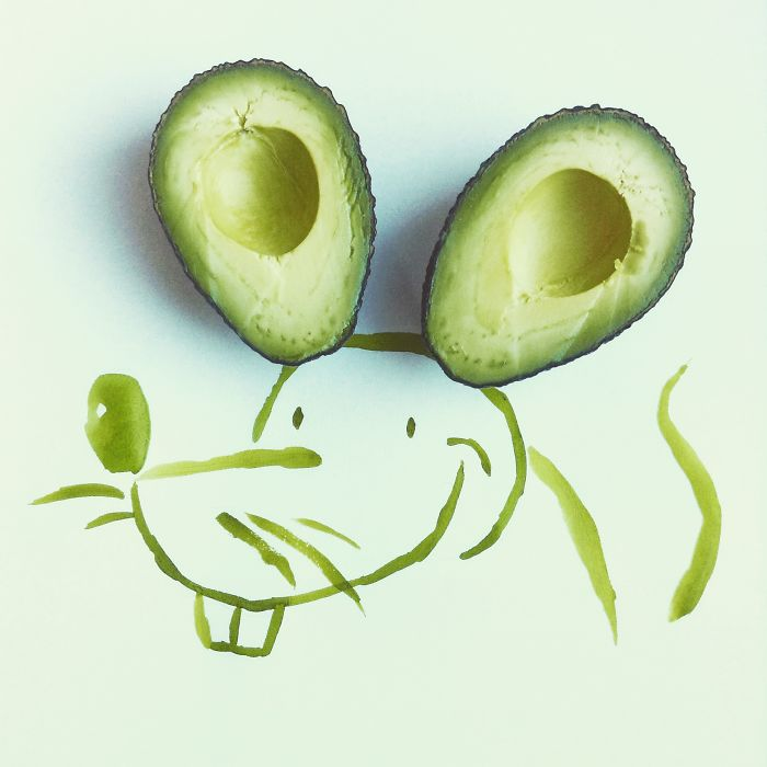 Avocado Mouse