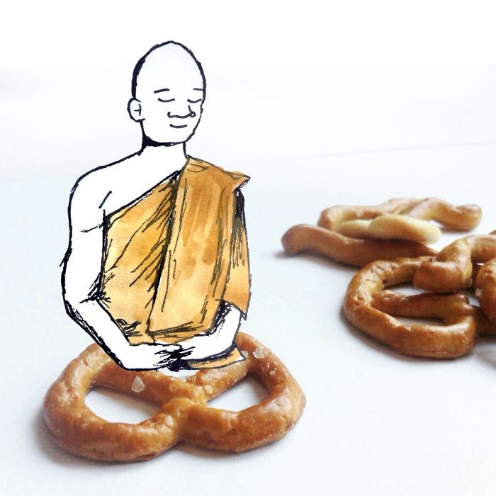 Pretzel Meditation