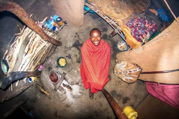 Manyatta, Kenya, Ezekiel, 22--Year-Old Warrior