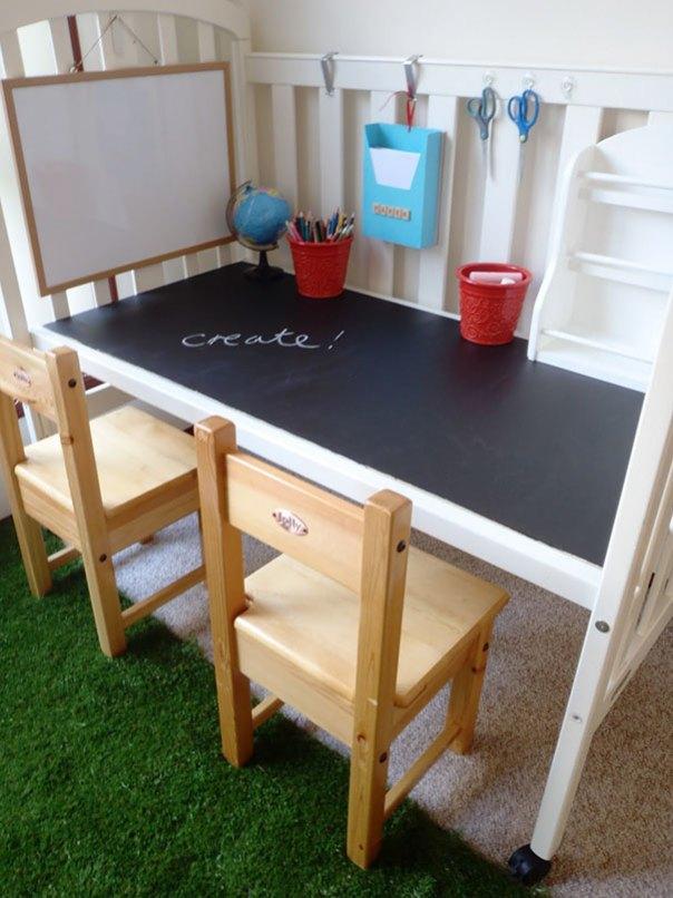 Se puede activar la cuna en una tabla Cuando los niños crecen de él