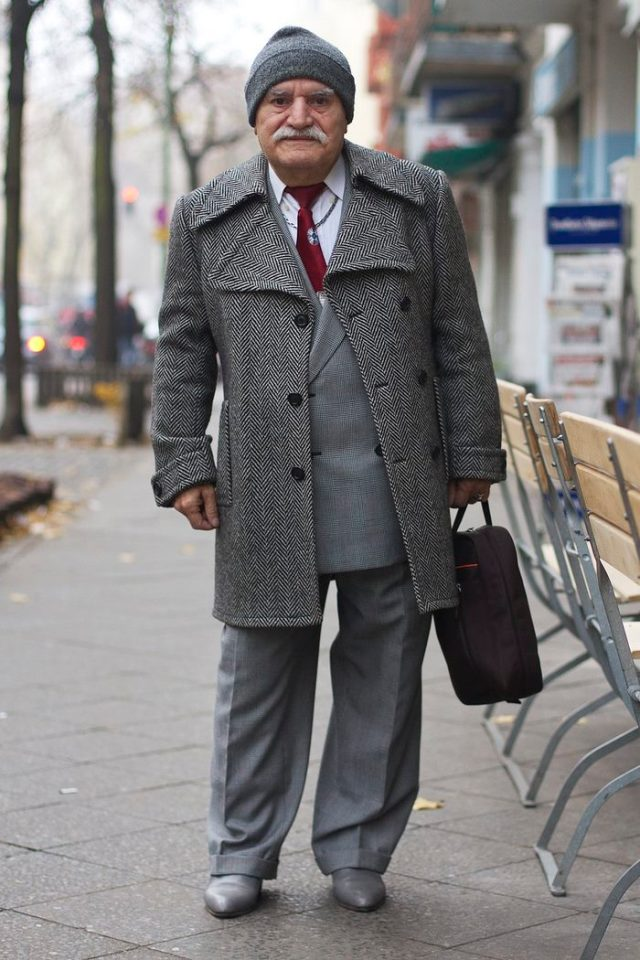 83 Year Old Stylish Tailor