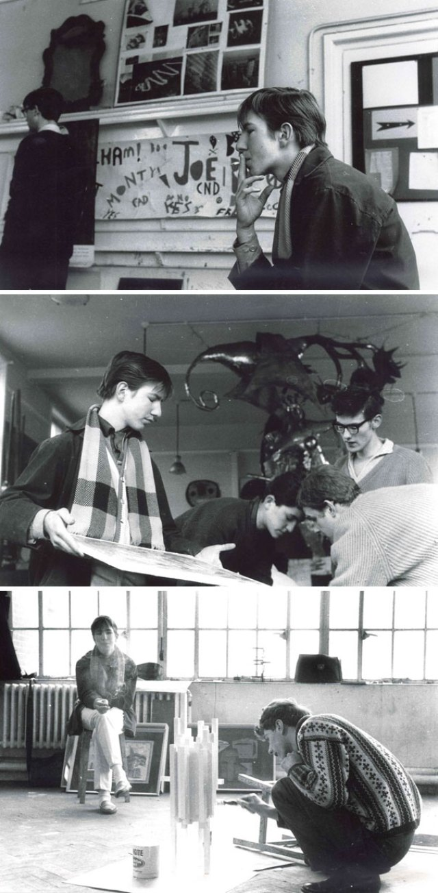 Teenager Rickman At The Latymer Upper School (1956-1964)