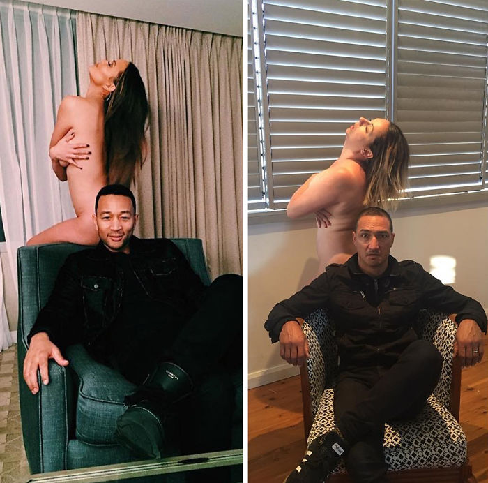 Funny-celebrity-instagram-photo-recreation-celeste-barber